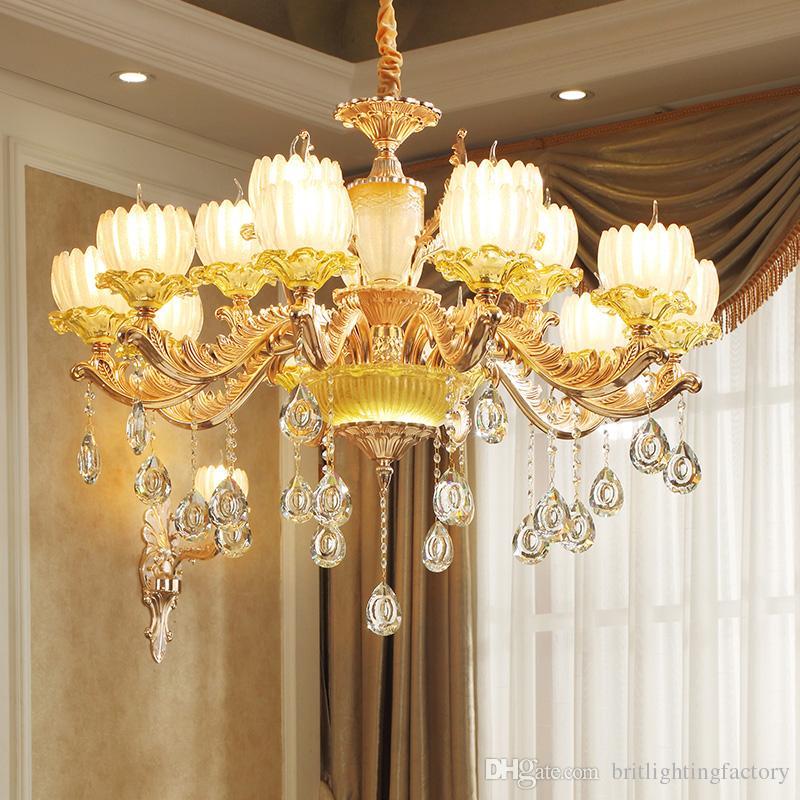 Licht & Beleuchtung Lüster Deckenleuchten Moderne Led Kristall Deckenleuchte Leuchten Mit 1 Licht Für Wohnzimmer Schlafzimmer Beleuchtung Glanz De Cristal Kostenloser Versand Zu Verkaufen
