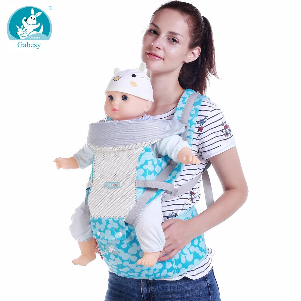 8eba912438c 2019 New Hipseat For Newborn Backpack Prevent O Type Legs 6 In 1 Carry  Loading Bear 25Kg Ergonomic Baby Carrier Wrap Kid Sling Chicco From  Luckyno