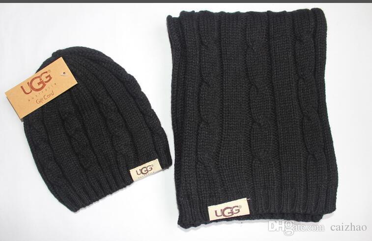 Großhandel Neue Hut Schals Set Winter Frauen Männer Warme