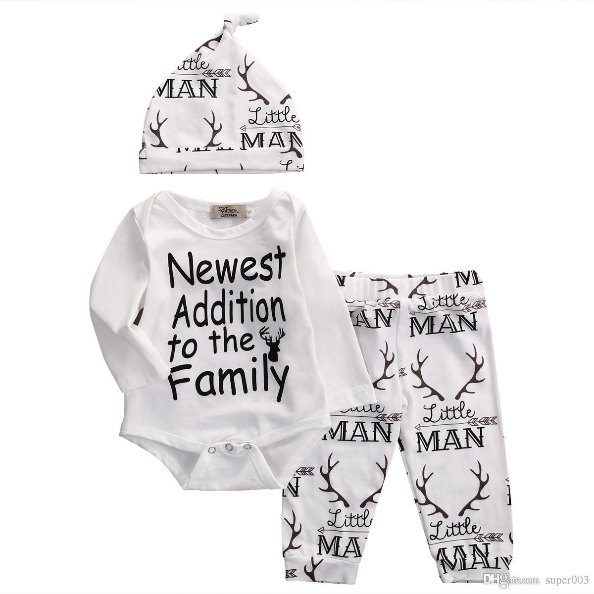 396db5645 2018 Autumn Style Baby Boy Clothes Fashion Cotton Baby Girl Clothing ...