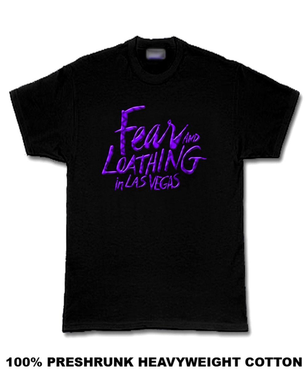 Fear & Loathing in Las Vegas purpleon black T Shirt