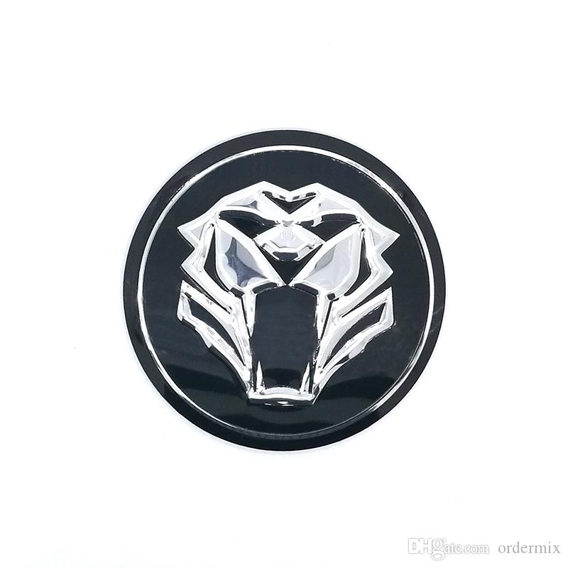 / Tiger head Car Steering tire Wheel Center car sticker Hub Cap Emblem Badge Decals Symbol For Honda VW Audi BMW Nissan