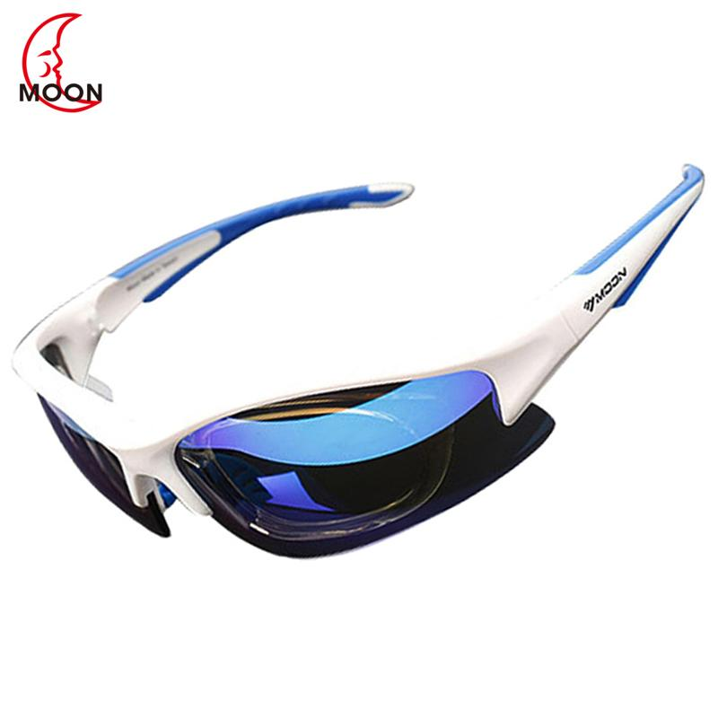 087444e859 MOON Polarized Cycling Sunglasses Outdoor Sports Bicycle Glasses ...