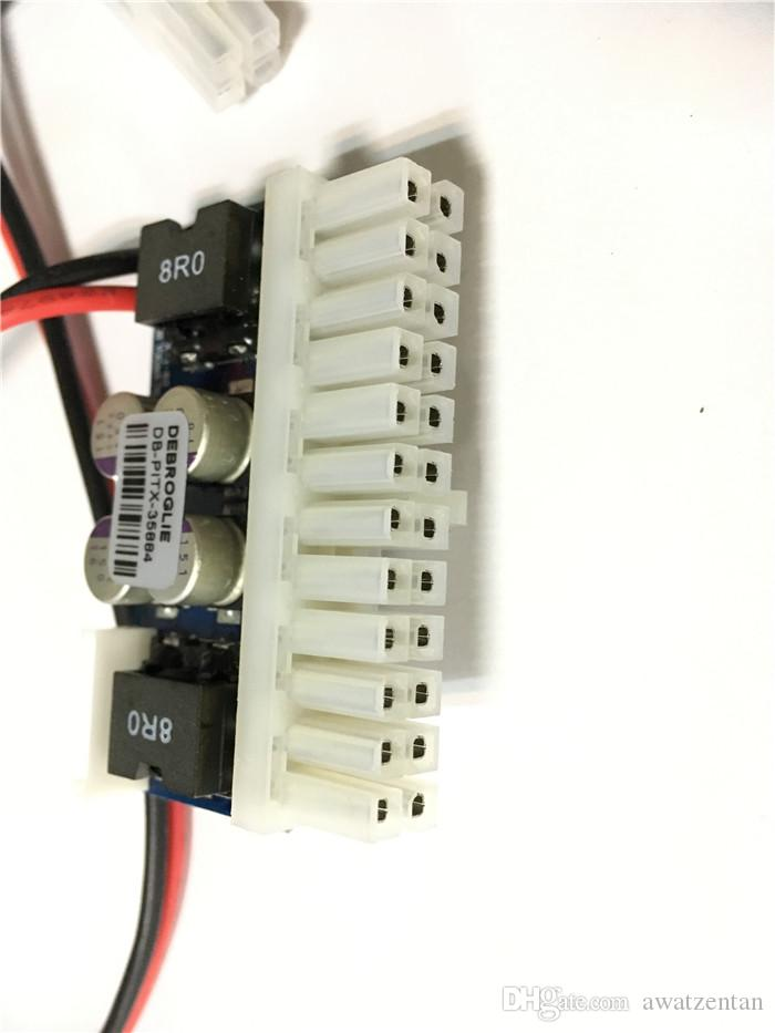 NUOVO ingresso femmina PCI-E 6pin Modulo di alimentazione DC-ATX-250W a 24 pin Swithc Pico PSU Car Auto Mini ITX Alto modulo di alimentazione DC-ATX ITX Z1
