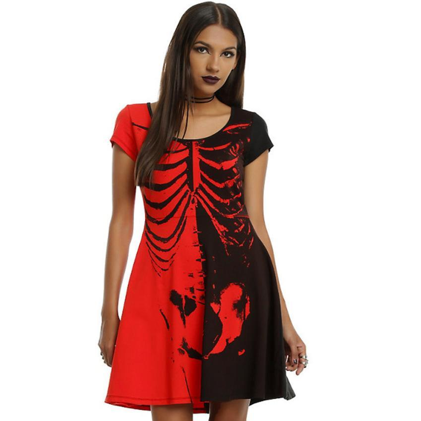 Fast Sending Sexy Women Halloween Lady Slim Bodycon Club Party Cocktail Mini Dresses Party Costume Accessory Drop Shipping l816