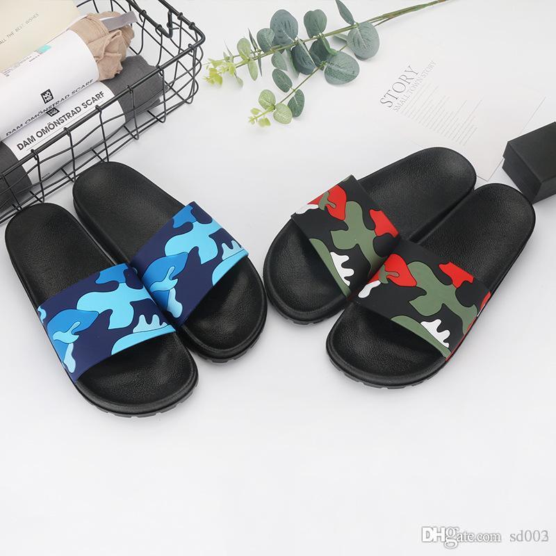 a1b70ecb5d0359 Sandálias de banho Apartamento Para O Homem Moda Chinelo Com Bonito Doce  Chinelos Homens Verão Praia Sapatos Casuais 14 5yh dd