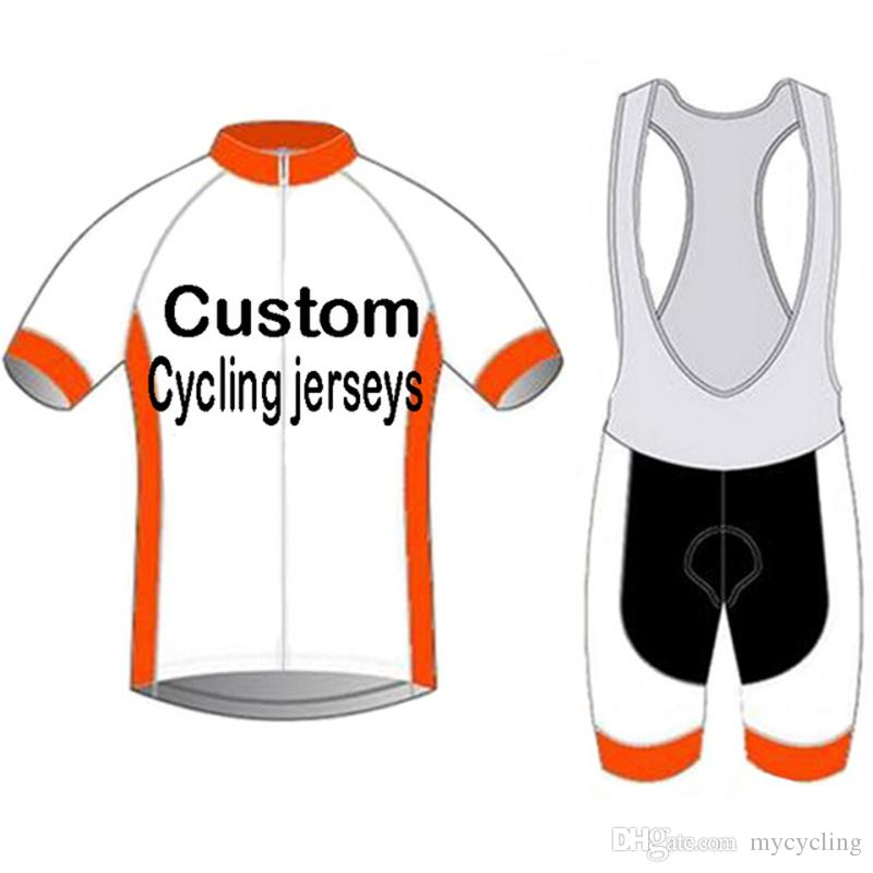 Custom high quality Cycling Jersey Design Summer Short Cycling Clothing Racing Sport Team Bike Jersey mtb Bicycle Clothes 50 pieces at least