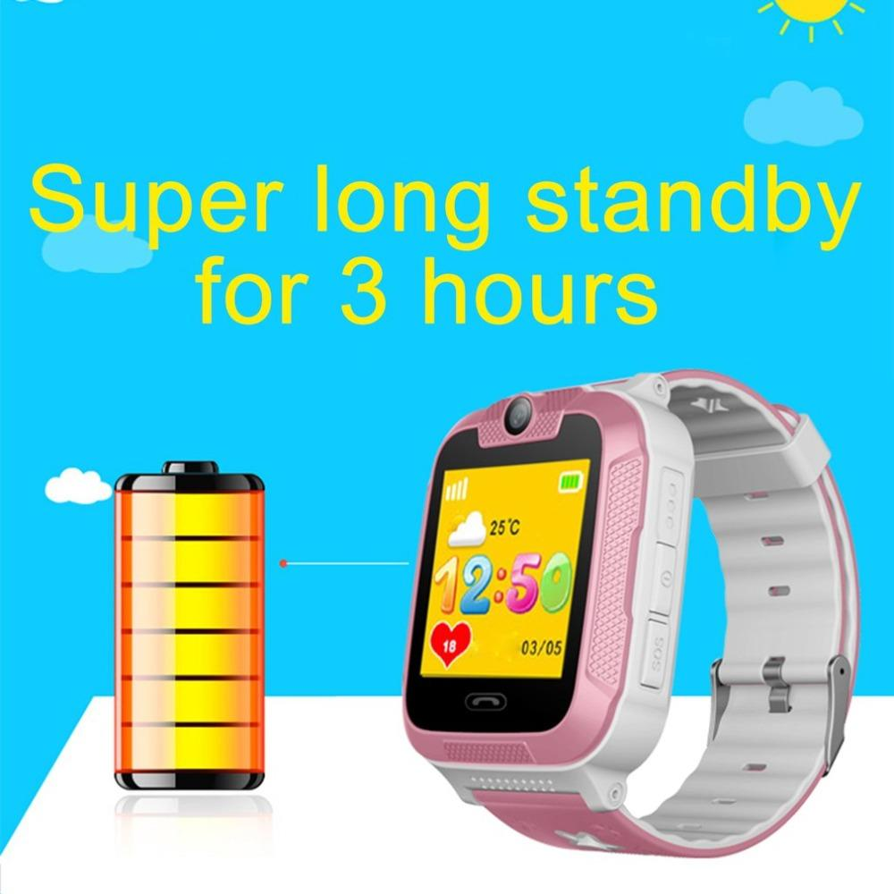 Anti Lost OLED Child GPS Tracker SOS Smart Monitoring Positioning Phone  Kids Baby Watch With Camera Compatible IOS   Android Women Smart Watch Best  Cheap ... 8b7ecff12