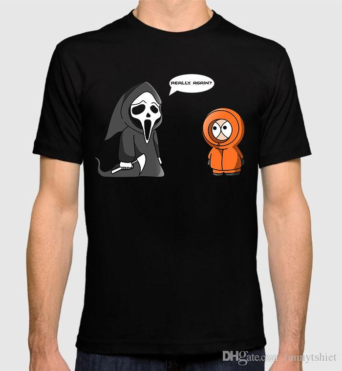 Cool Funny T Shirt High Quality Tees South Park Kenny Funny T Shirt ...