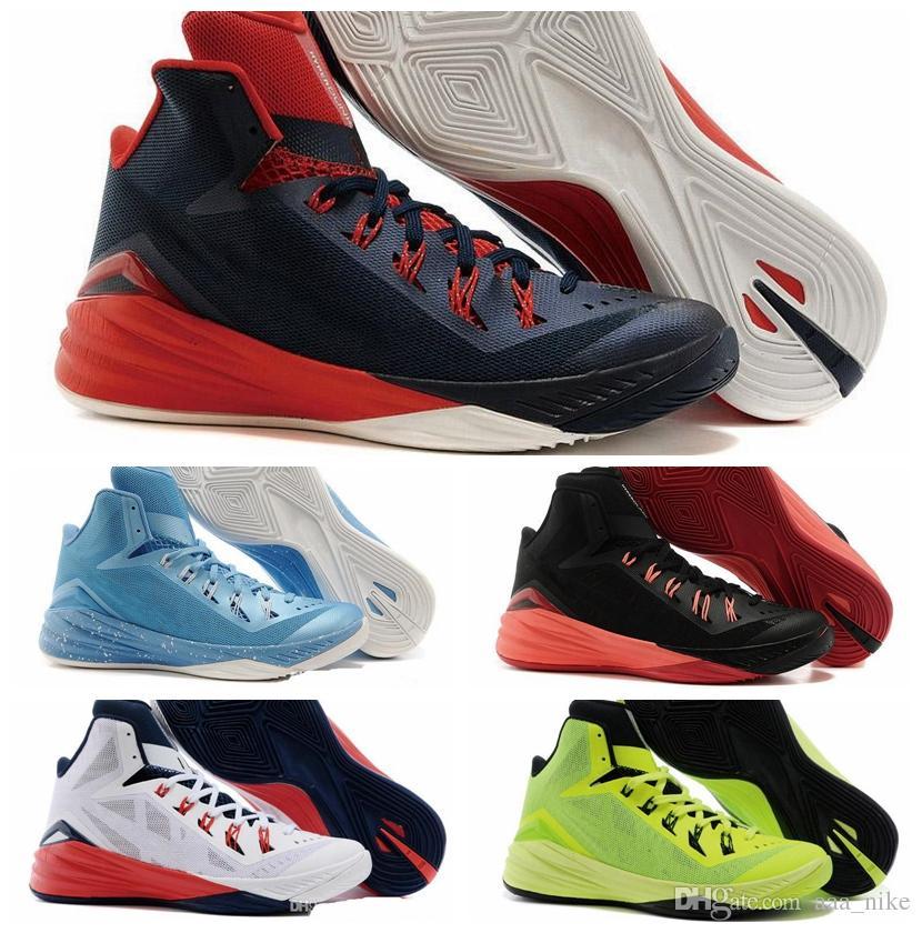 san francisco 60bf9 35be3 Acheter Nike React Hyperdunk 2017 FK Chaussures De Basket Ball Hyperdunk  2014 TB Hi Top Pour Hommes Et Femmes Mode Chaussures De Sport D intérieur  Et ...