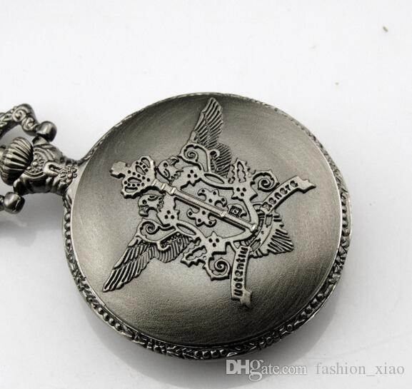 Black Deacon Pocket Watch Contract Form Black Deacon Symbol Anime Pocket  Watch Anime Pocket Watch Sebas Watches Automatic Pocket Watch Buy Pocket