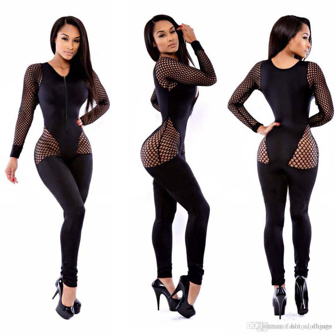c4487087b4 Sexy Bodysuit Special Offer Skinny Body 2018 New Arrival Plus Size ...