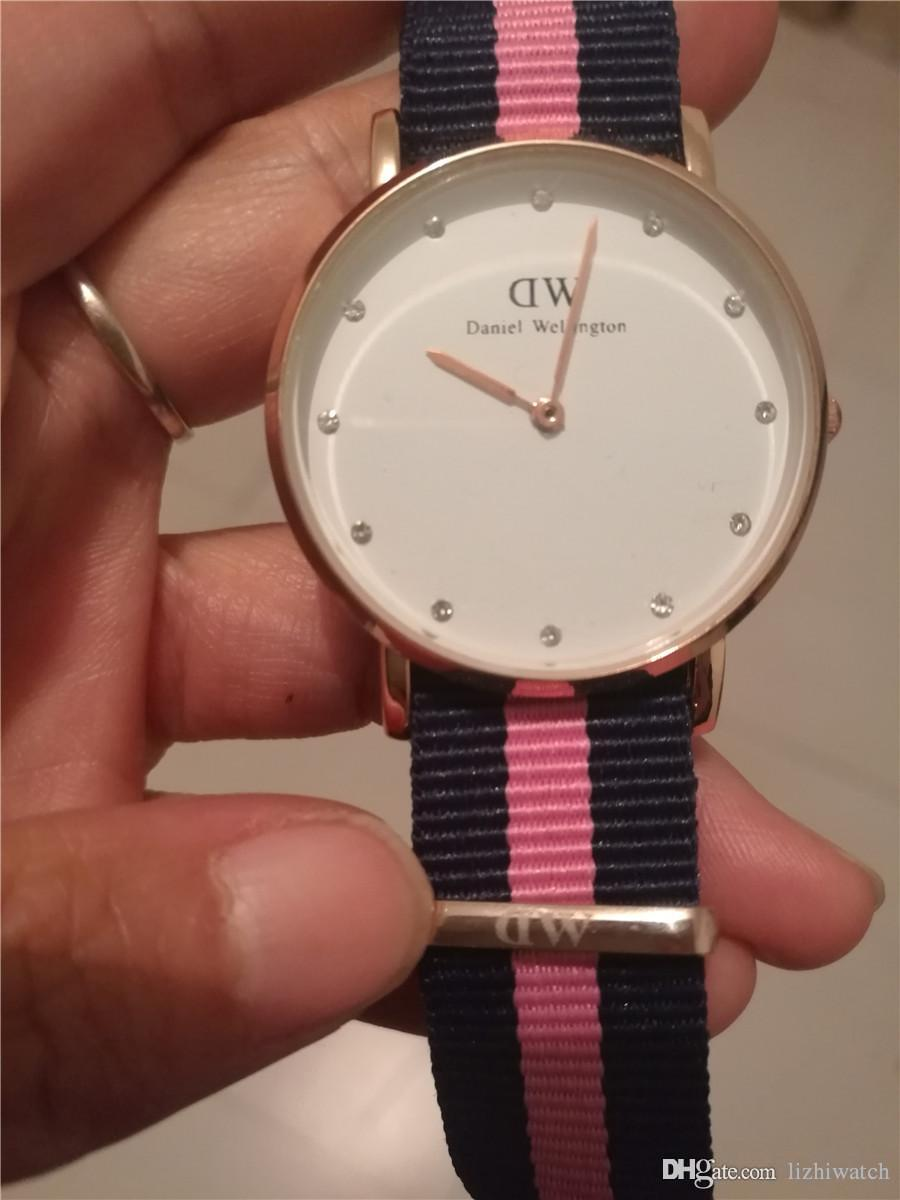 a0e8be1b4c95 2018 Famous Brand Daniel Wellington Women Watches With Box Fashion Diamond  Rose Gold 36mm Women Watch Dw Luxury Brand Quartz Wristwatches Online Watch  Buy ...