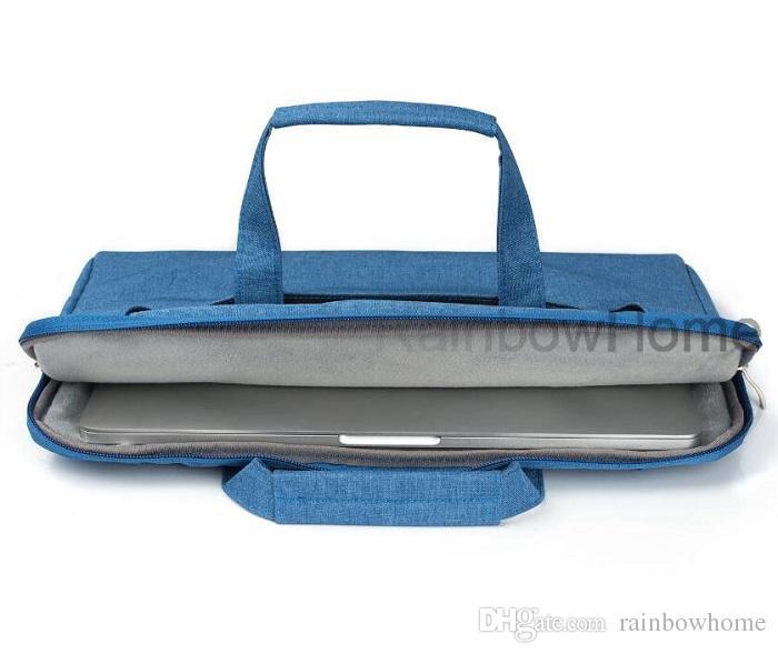 Borsa a tracolla Borsa con cinturino MacBook Air Pro Retina 12 13.3 Custodia protettiva PC con cerniera a 15 pollici