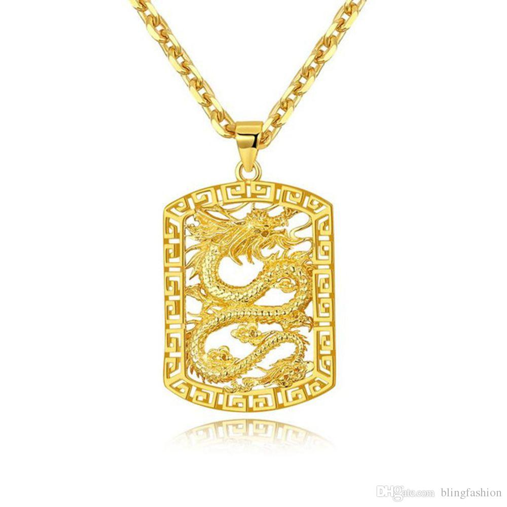 ... ouro amarelo 18k tamanho do pingente  34mm   23mm tamanho da corrente   45cm. Qualidade  AAA +++. Níquel livre, não é alérgico, não é fácil de  manchar 2465f2179e