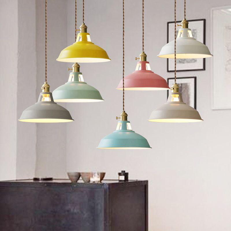 Modern Chandeliers Led Pendant Lights Multicolour Dining Room ...