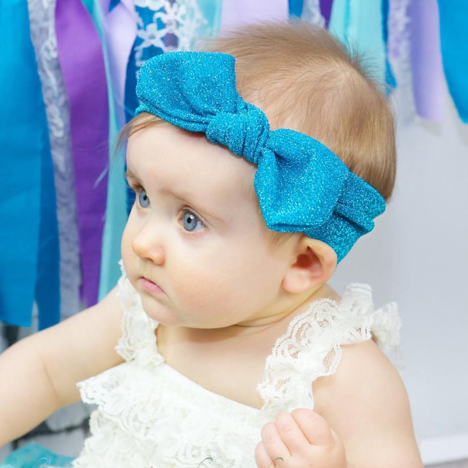 Baby Girls Tie Knot Headband Lace Farbic Glier Children Girls Elastic Hair  Bands Turban Bow Newborn Headbands Hair Accessories Hair Accessories For  Weddings ... 8e00fdd1da5