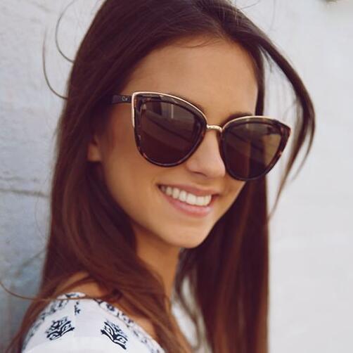 Compre Super Menina Tartaruga Olho De Gato Óculos De Sol Das Mulheres Da  Marca Australiana Moda Rosa Espelho Reflexivo Óculos De Sol Feminino Oculos  Uv400 ... 48f6e81946