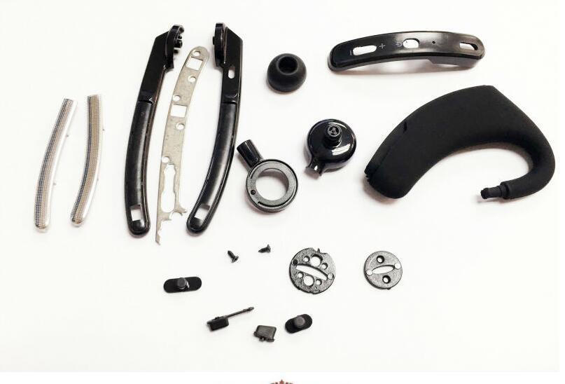 Ohrhakengeschäft Bluetooth Kopfhörer drahtloser Kopfhörer Bluetooth 4.0 bluetooth Stereoheadset für iphone Samsung SCHWARZ mit Kleinhandel