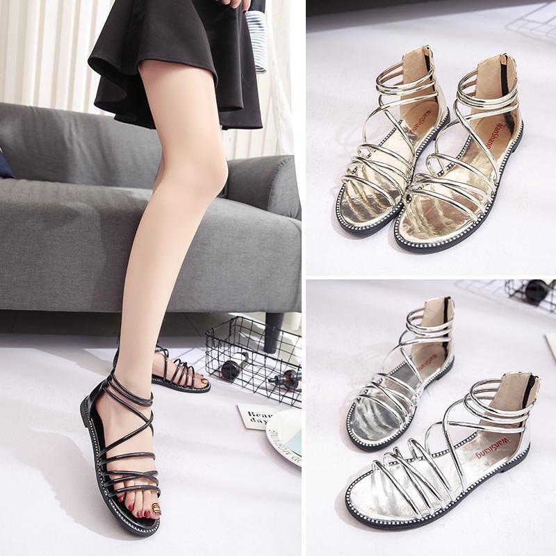 Nouvelles femmes chaussures d'été sandali chaussure femme flip flops femmes plage chaussures UI4otnMi