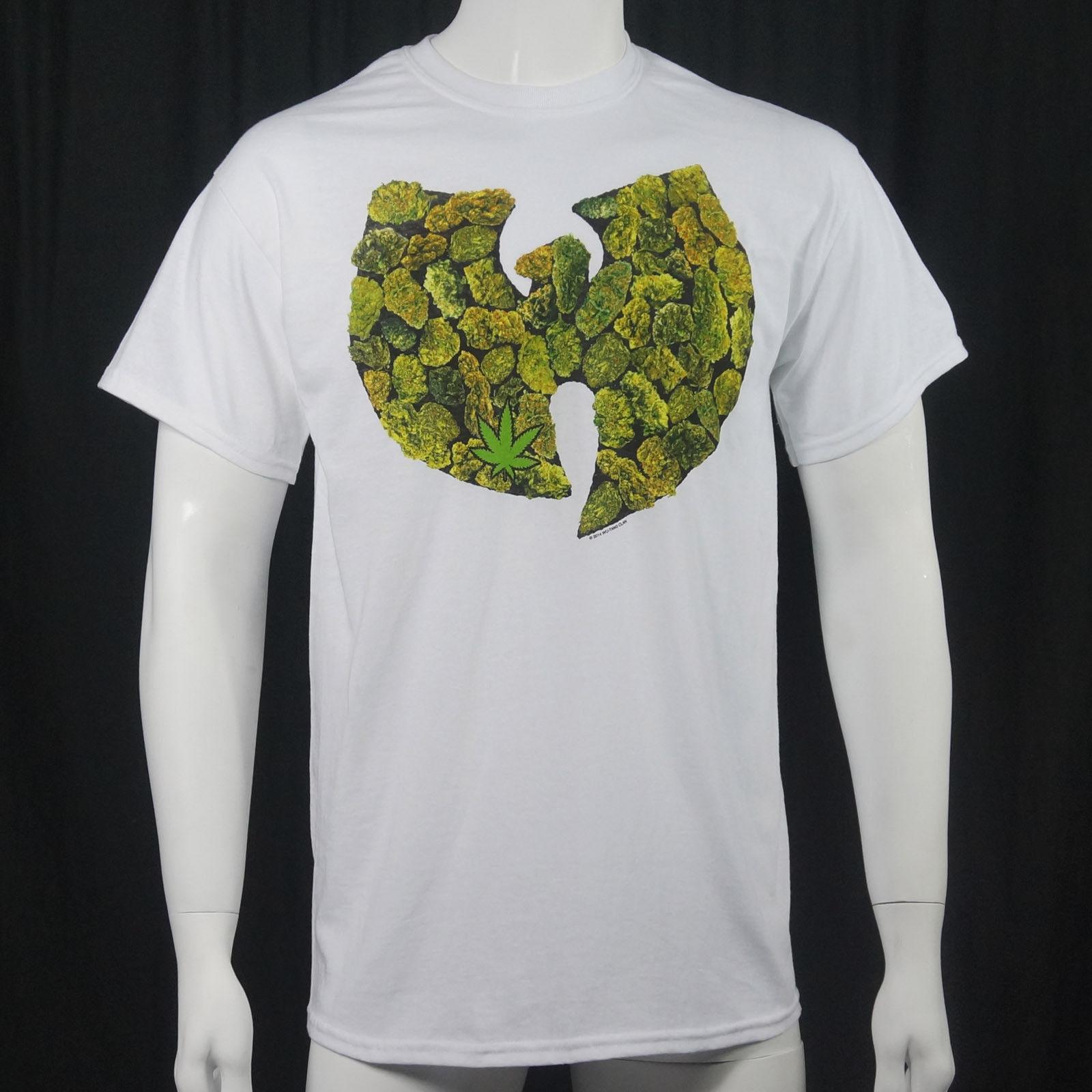 48067604443e Details Zu Authentic WU TANG CLAN Pot Leaf Logo T Shirt S M L XL 2XL NEW T  Shirt And Shirt Shop T Shirts Online From Lukehappy14, $12.96  DHgate.Com