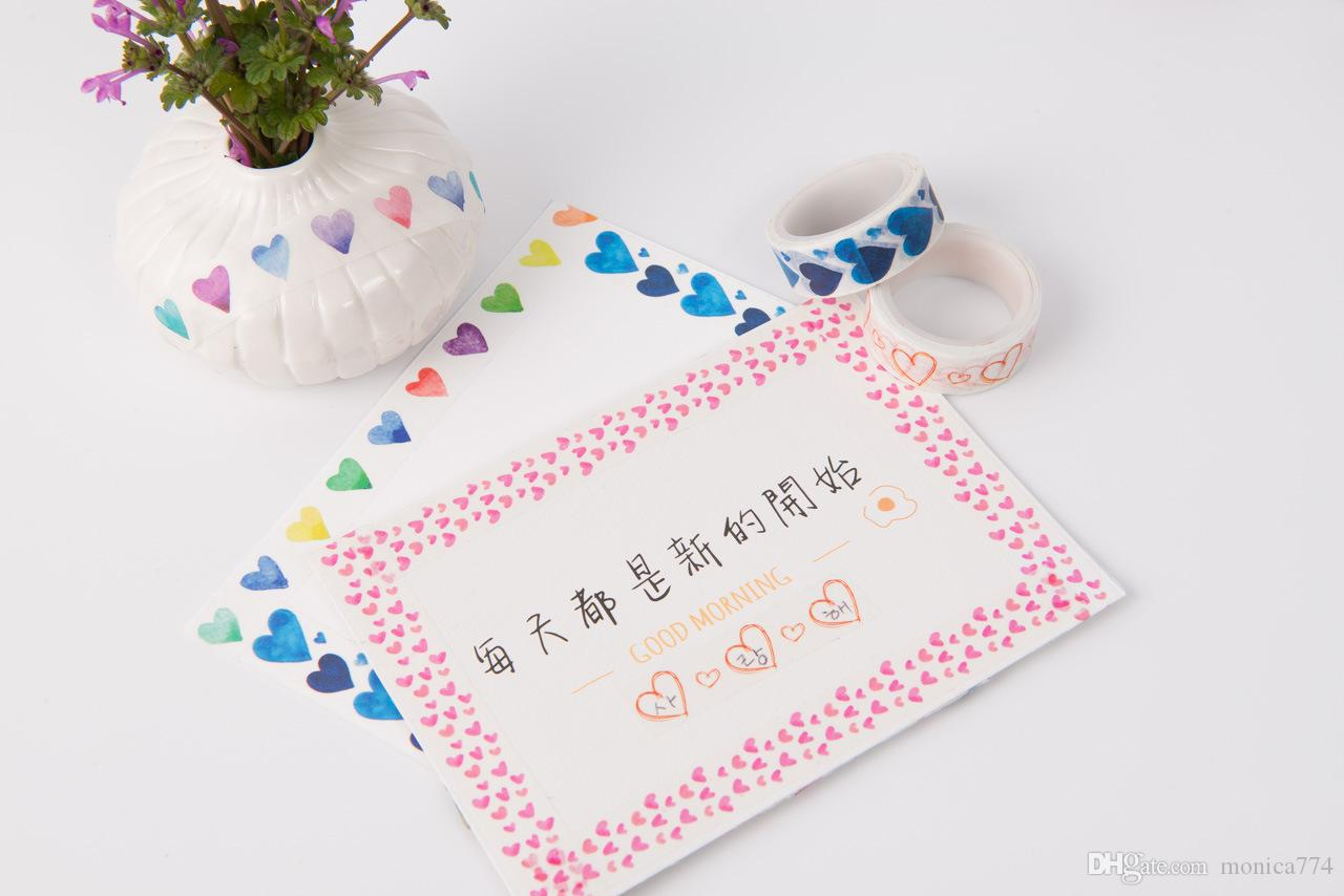 Cute Cartoon Washi Masking Paper,Picture Frames,Creative Stationery DIY Grid Stickers Kids House Wall Stickers,Photo frame tape