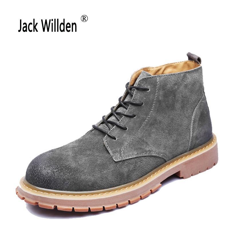 Herren Wildleder Fashion Willden Jack Winter Climbing Schnee Schuhe Winterstiefel Warme Outdoor Stiefeletten jL3Aqc4R5