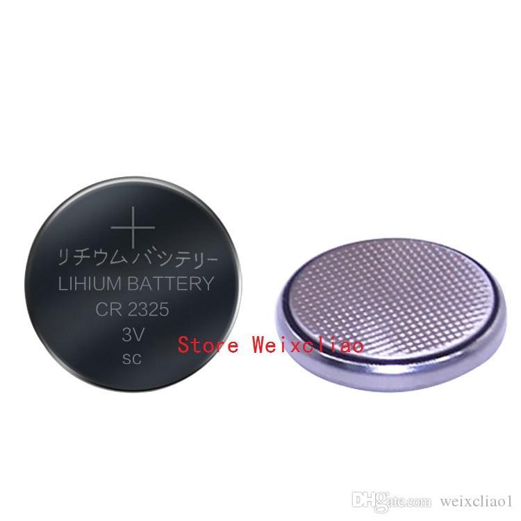 10 pz 1 lotto CR2325 3 V batteria a bottone al litio agli ioni di litio CR 2325 3 Volt batteria agli ioni di litio vassoio pacchetto Spedizione Gratuita