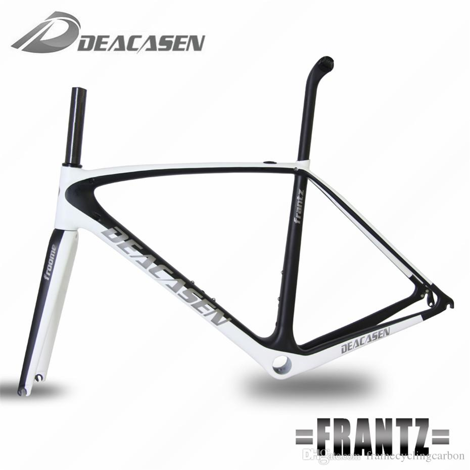 Four Colors! Hot Sale Full Carbon Road Bike Frame T1000 BSA68 BB30 ...