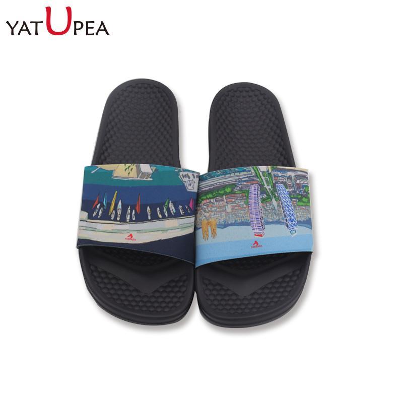 b3b891481abd EVA+PVC Man Women Beach Slippers Sandals Non Slip Indoor Outdoor Heels  Platform Slippers Summer Hotel Flip Flops Massage Durable Winter Boots  Cowgirl Boots ...