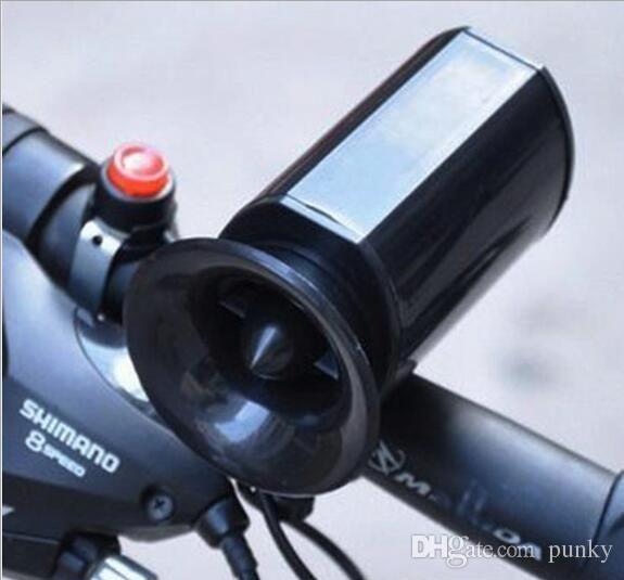 Bike Cycling Loud Voice Electronic Bicycle Ultra-loud Siren Alarm Bell Horn