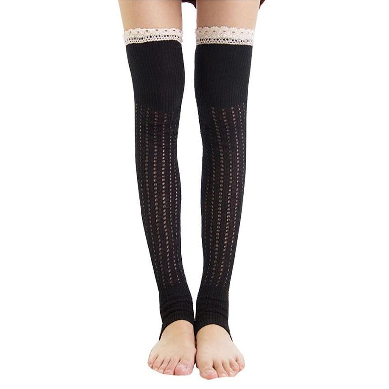 dba9129e0aabf 2019 Women High Over The Knee Socks Thigh High Stockings Knitted Warm  Japanese School Student Long Sock#LREW From Watchlove, $29.27 | DHgate.Com