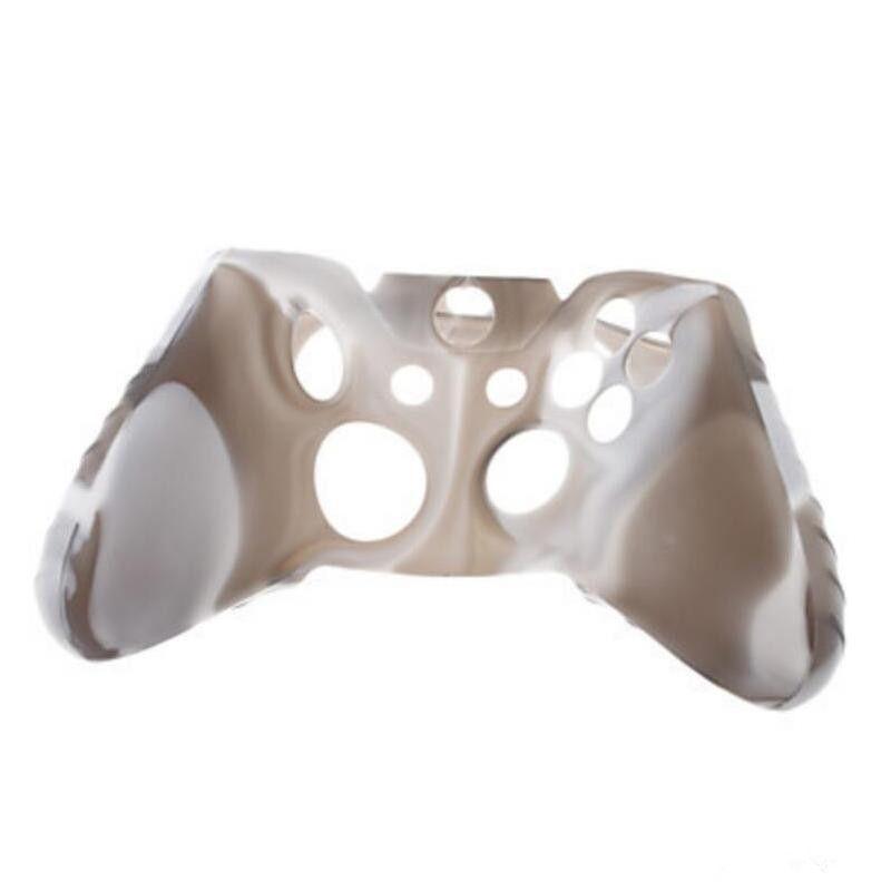 Para xone silicone suave camuflagem flexível tampa da caixa de pele de borracha para o xbox one slim controlador grip tampa melhor preço