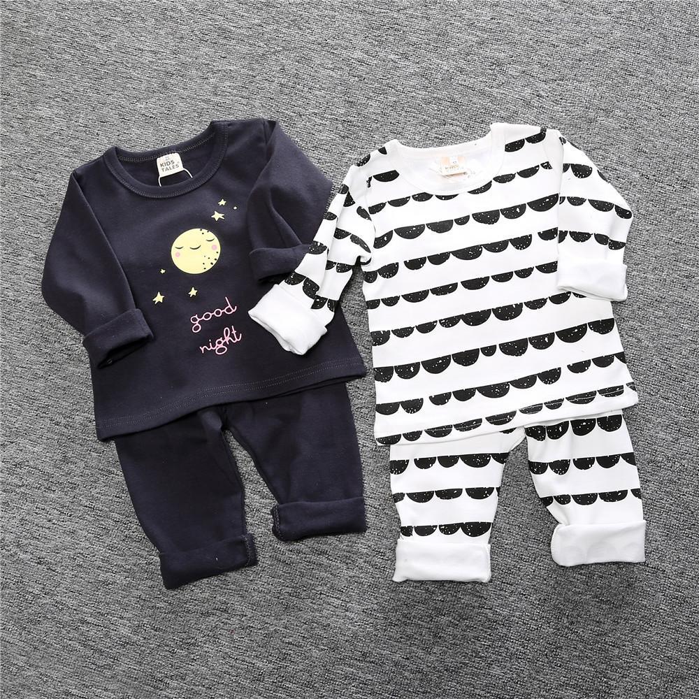 7aa79406a Compre Kids Tales Nuevo Otoño Invierno Niños Niñas Pijamas Conjuntos Pijamas  Niños Ropa De Dormir Ropa Para El Hogar Impreso Algodón Bebé Ropa De Dormir  1 ...