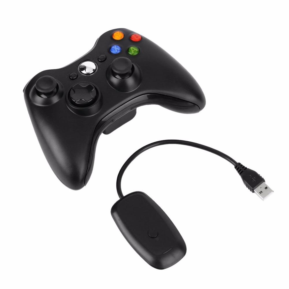 Freeshipping 2.4G Wireless Controller USB Game Gaming Gamepad Joystick Receiver for XBOX 360 for PC Computer for WINDOWS XP WIN7 WIN8 WIN8.1