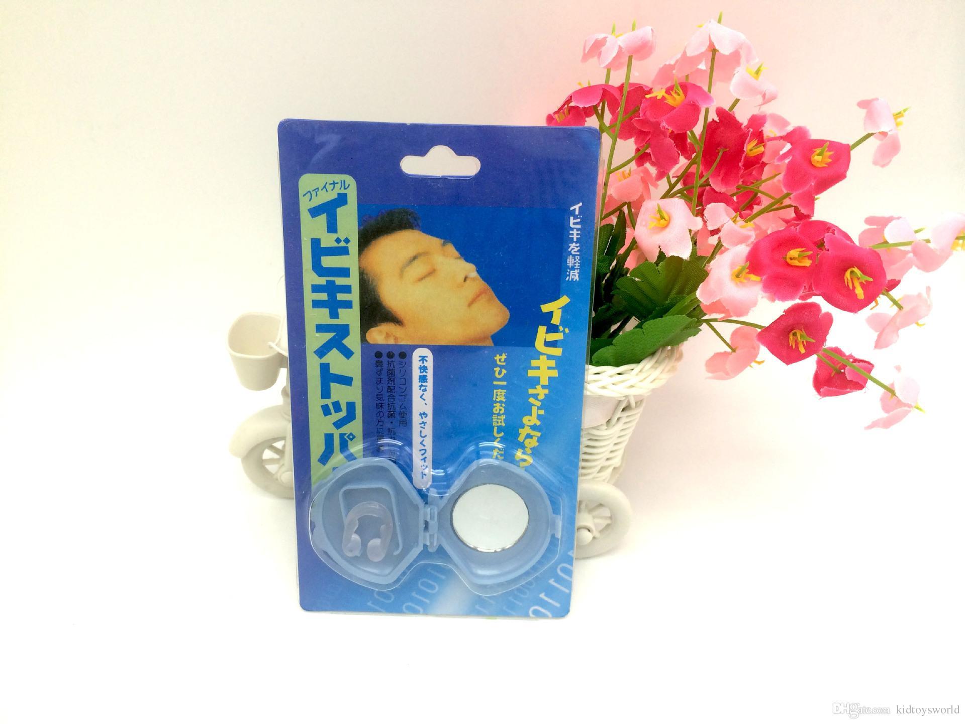 2018 Silicon Stop Snoring Nose Clip in confezione personalizzata made in china spedizione gratuita