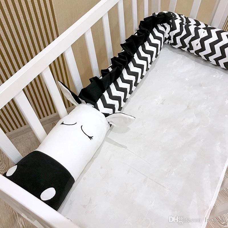 Grosshandel Bequeme Baby Bett Kissen Baumwolle Zebra Form Kinder