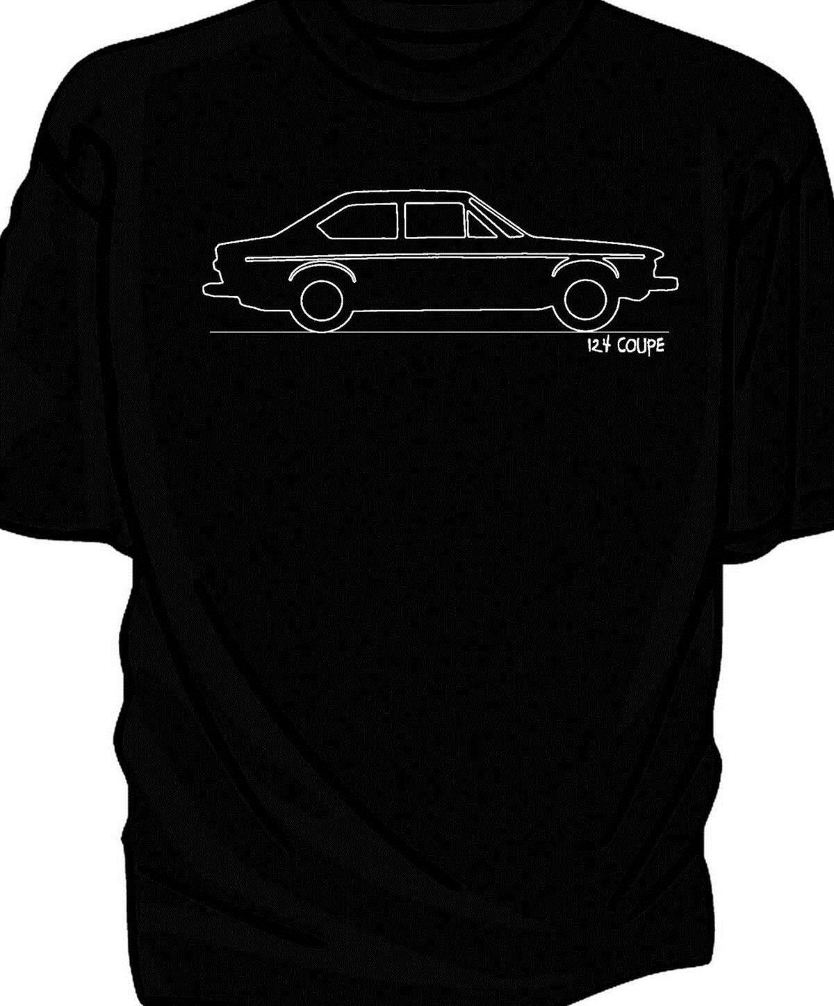 Original Sketch Fiat 124 Coupe T Shirt Awesome Cheap Shirts Wiring Diagram Online Shopping For From Zhangjingxin08 1208