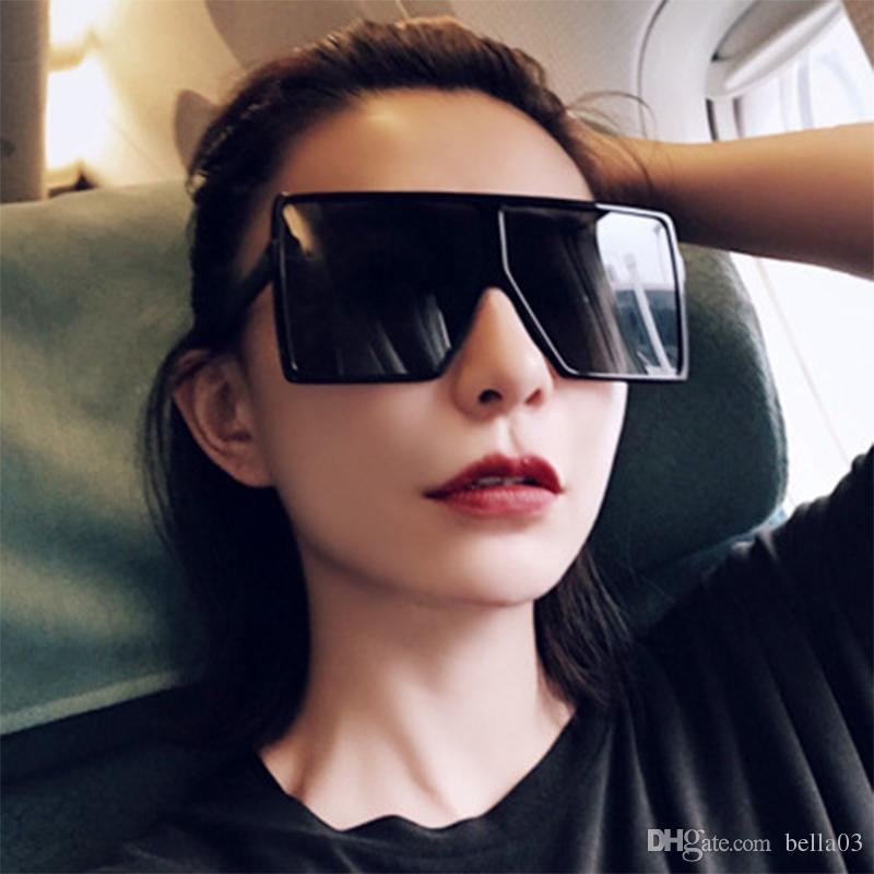 4b088eaeab Fashion Oversized Square Frame BETTY Sunglasses Women Cool Trend Shield  Style Brand Designer Sun Glasses Shades Oversized Sunglasses Best Sunglasses  For Men ...