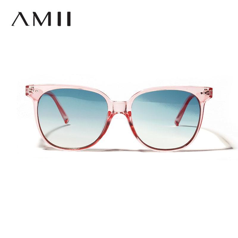 7fe190efe2 2018 Women Pink Frames Sunglasses Candy Color Sun Glasses Ladies Color  Transparent Ocean Lens Glasses Men Vintage Sunglasses Prescription Glasses  Online ...