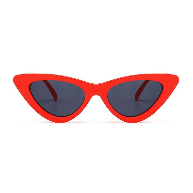 49040463da88f Fashion Trend Cat Eye Sunglasses Women Retro 2018 Luxury Brand Designer Cat  Eye Sunglasses Women Vintage Gradient Female Sun Glasses Round Sunglasses  Cheap ...
