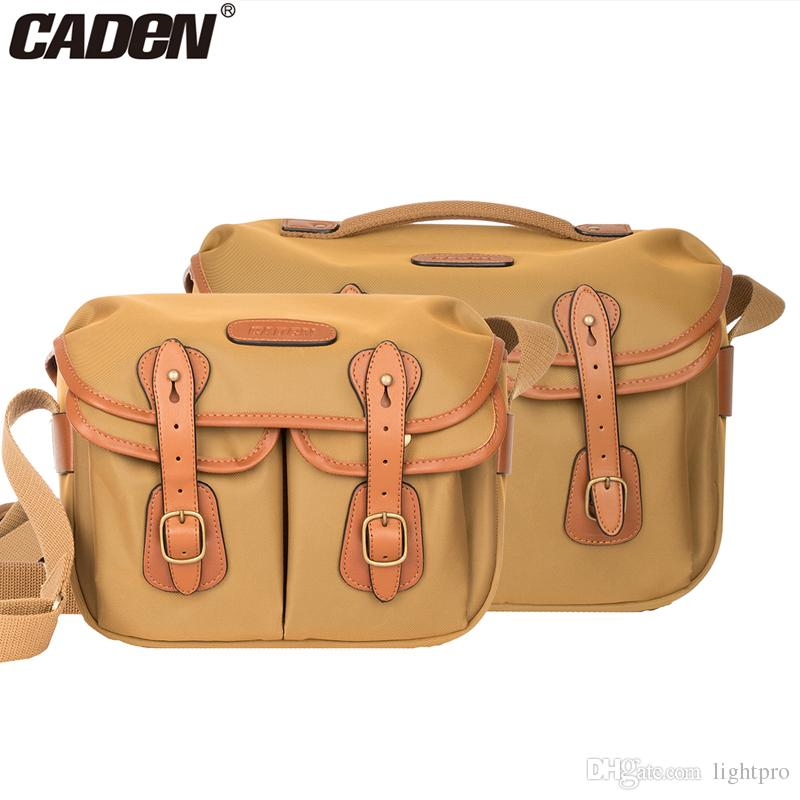 Caden DSLR Camera Waterproof Elegant Stylish Sling Shoulder Bag Crossbody Messenger Men Women Bag Case for Canon Nikon Sony