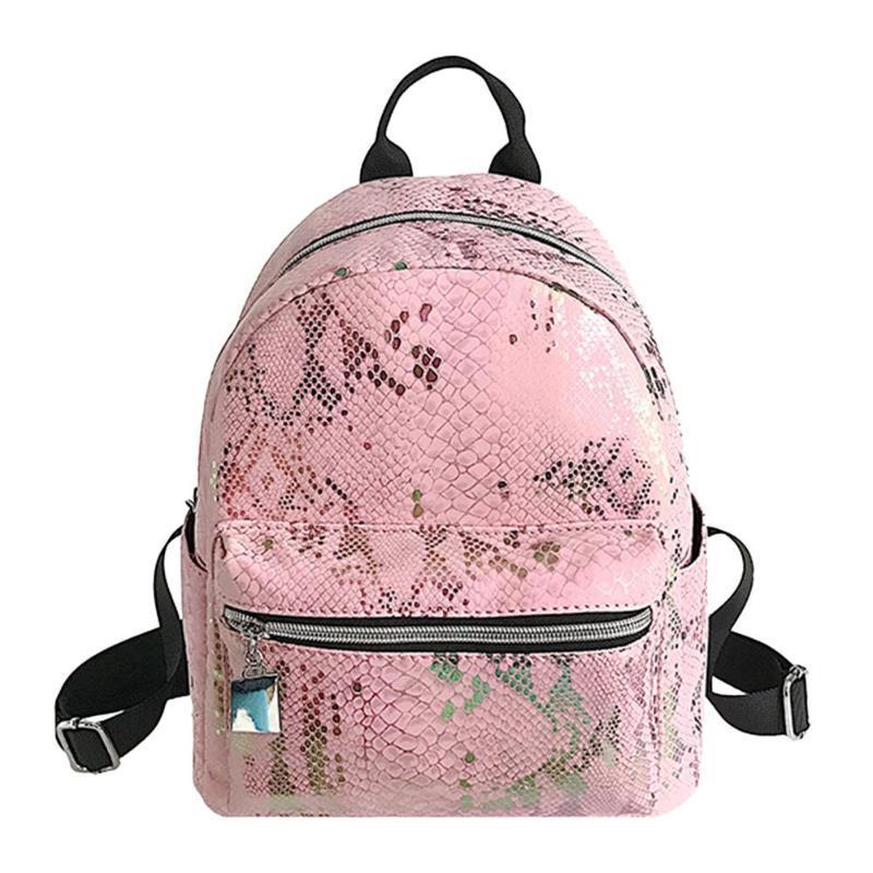 398b7d5a6bc9 Fashion Small Casual Mini School Bag PU Leather Backpacks Women Small  Rucksack Girl Cute Travel Zipper Shoulder Backpack Mochila School Bags  Messenger Bags ...