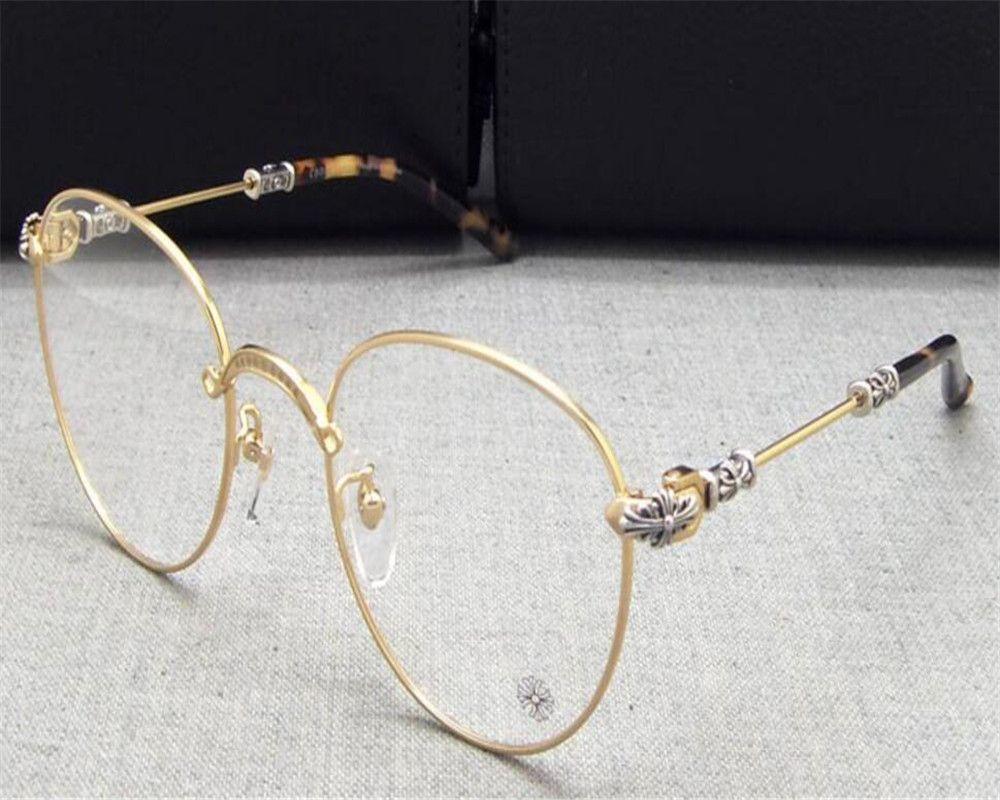 fb3261731685 2019 Retro Fashion Alloy Full Rim Round Frame Brand Design Gold Silver  Spectacle Myopia Prescription Reading Glasses Vintage Eyeglass From  Value222