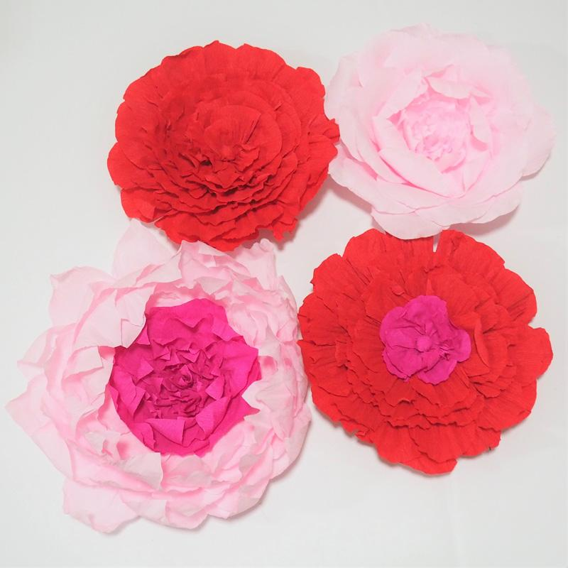 Giant Crepe Paper Flowers For Wedding Event Deco Baby Nursery Baby