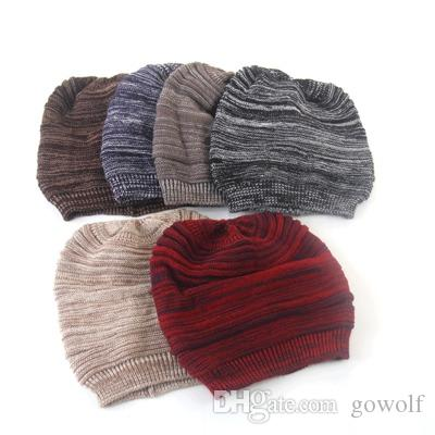 3228a2f231237 2019 Bulk Polyster Winter Hats Adult Skully Brand Hats Beanies Fitted Hat  Luxury Polo Hats Warmer Skull Caps From Gowolf