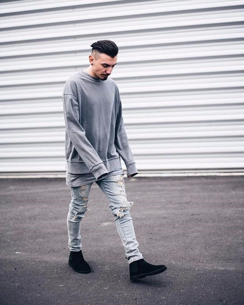 7b8fc52c3606 2019 Wholesale 2018 Street Style Mens Designer Clothing Round Neck  Personalized Designer Hoodie Youthful Popularity Designer Sweater From  Szghhcool