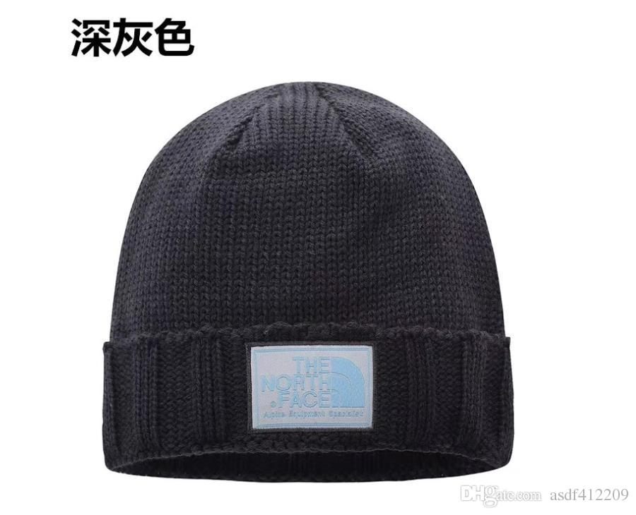 1e933c7d6c3ac1 The New 2018 Thickening Keep Warm Winter Cap Tidal Autumn Wind Frost ...