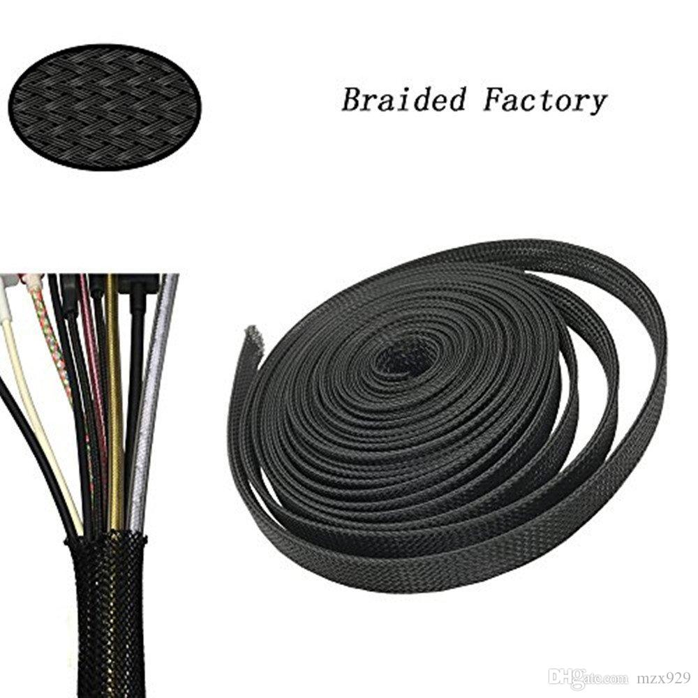 1/4 Flexo PET Expandable Braided Sleeving Used to Fireproof Protect ...