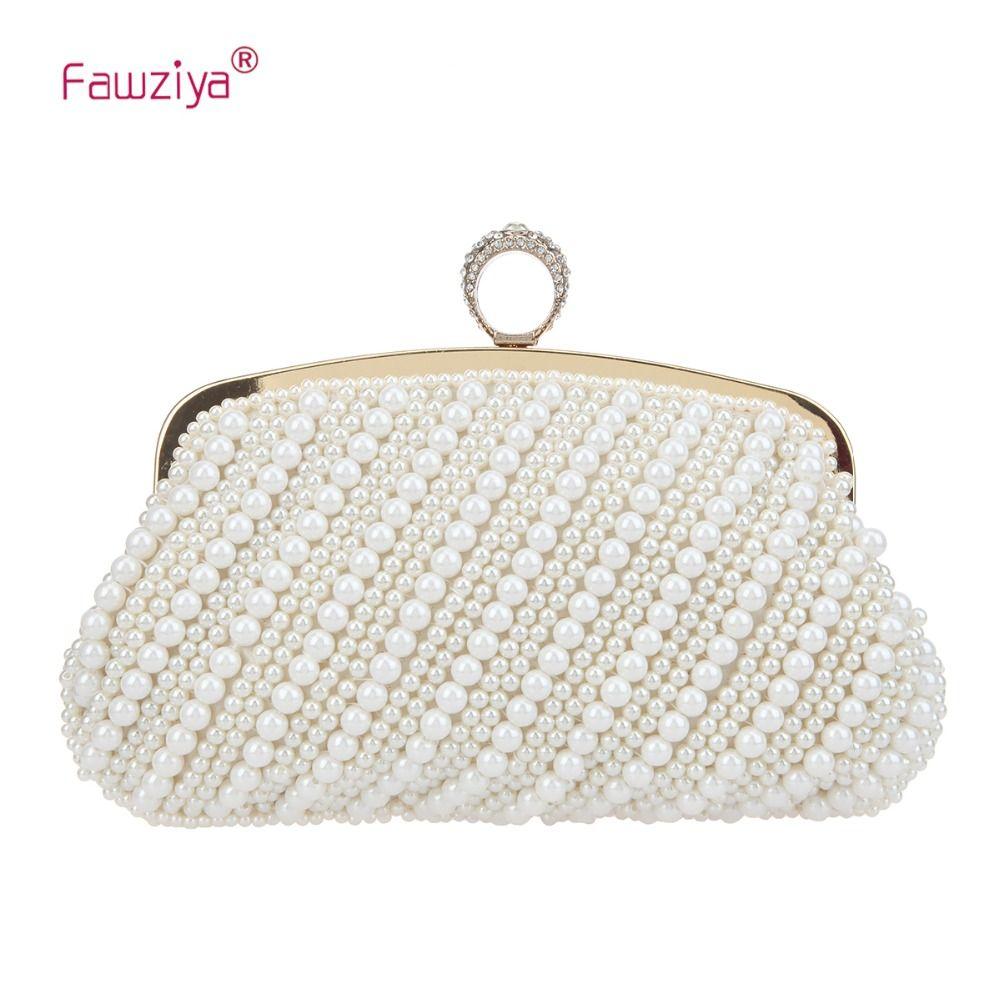 8b8607653b6e Fawziya Pearl Clutch Purses For Women Ring Evening Bags And Clutches ...